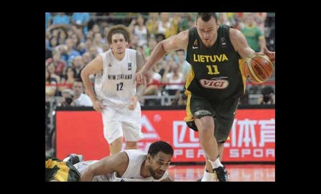 Litvanya çeyrek finalde!