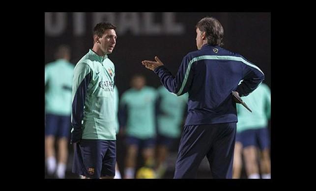 Hocasından Messi açıklaması