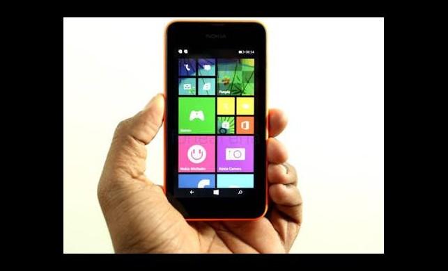 İşte Nokia'nın yeni cebi: Lumia 530!
