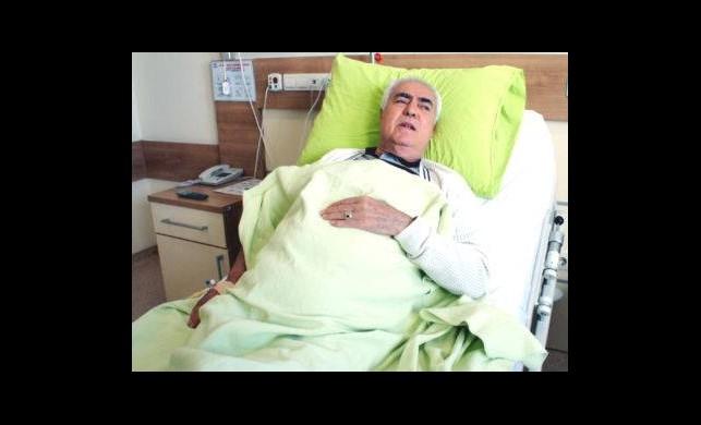 Nuri Sesigüzel Hastaneye Kaldırıldı