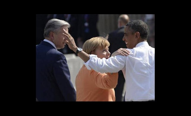 Obama'ya Almanya'da Soğuk Duş