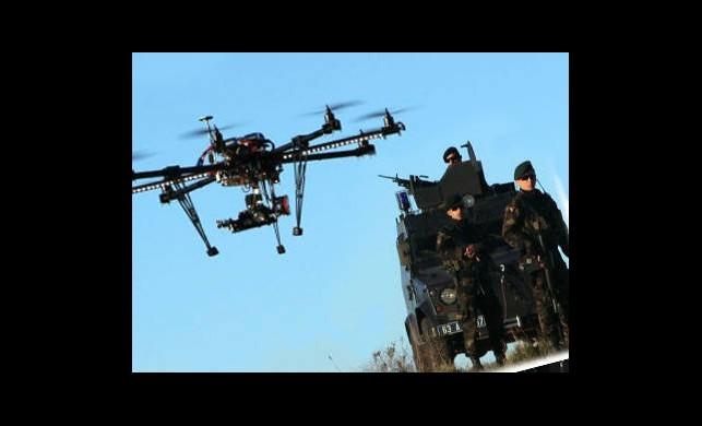Urfa Polisi Kendi İnsansız Hava Aracını Yaptı