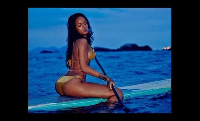 Rihanna sosyal medyayı böyle salladı!