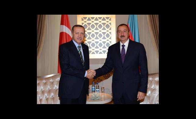 Erdoğan İle Aliyev Biraraya Geldi