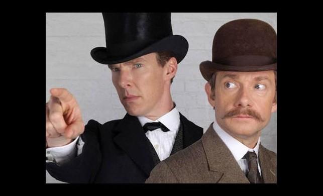 'Sherlock' özel bölümünden ilk kare