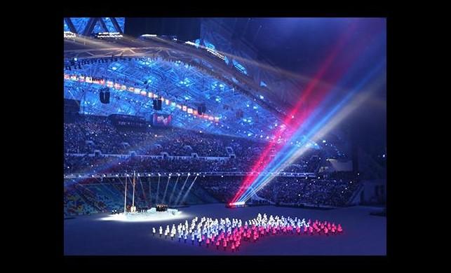 Soçi'de muhteşem açılış töreni