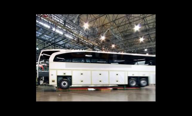Çinliler Siirt'e Otobüs Fabrikası Kuruyor