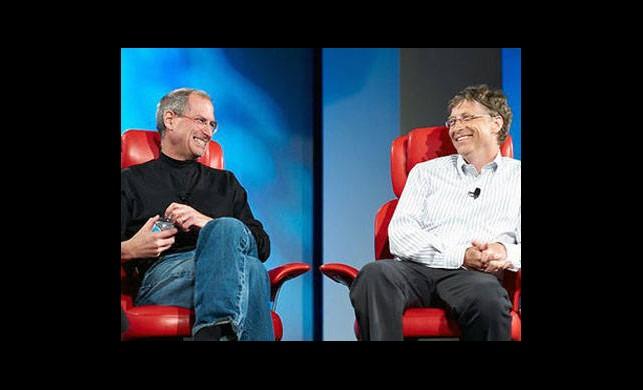 Bill Gates ve Steve Jobs...