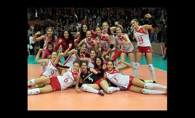 Genç Sultanlar Avrupa Finalleri'nde!