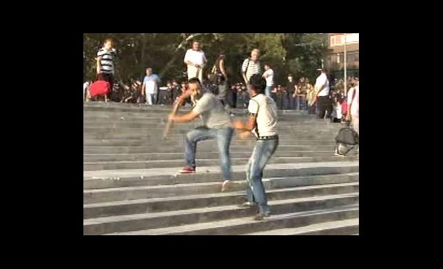Gezi Parkı'nda Çay Kavgası