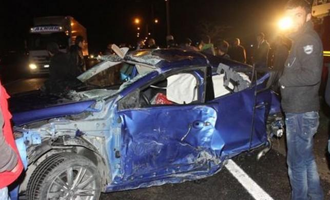 Batman'da feci kaza: 1 ölü 3 yaralı!