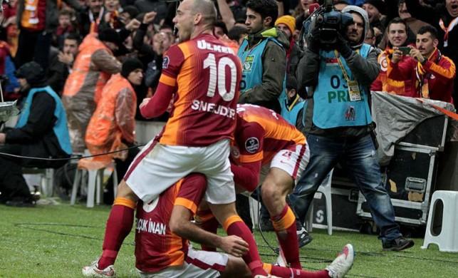 Galatasaray'ın avantajı derbi!