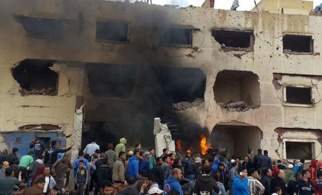 Mısır'da kanlı baskın! 6 ölü...