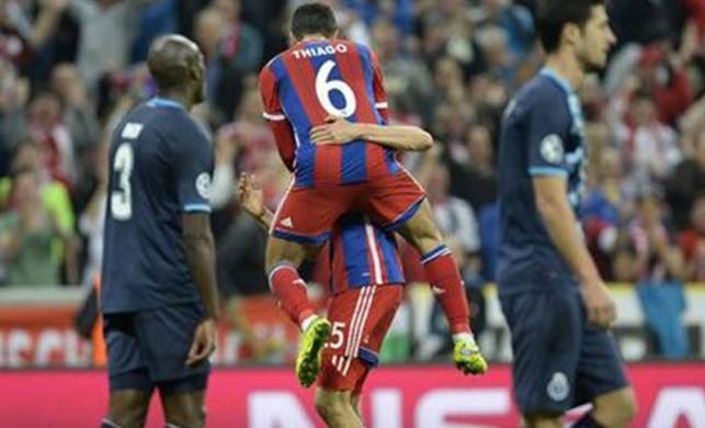 Bayern Porto'yu pişman etti!