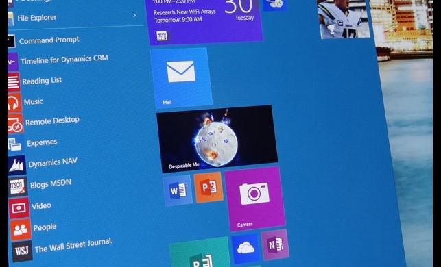 Windows 10'da şaşırtan görüntü