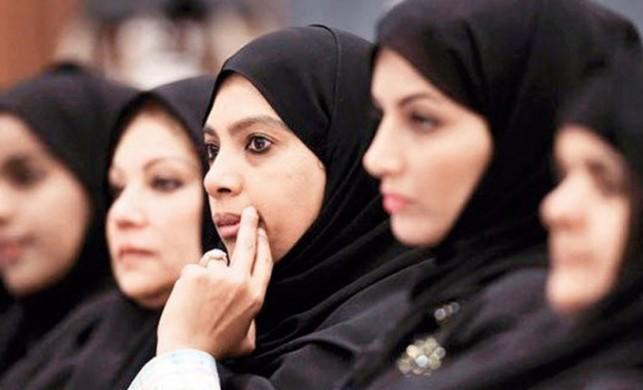 Suudi Arabistan'da kadınlar ilk kez