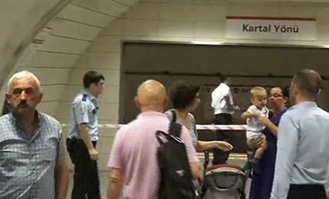 Metroda bomba paniği! Seferler durduruldu
