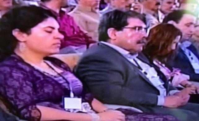 PYD kongresine HDP'li vekiller de katıldı