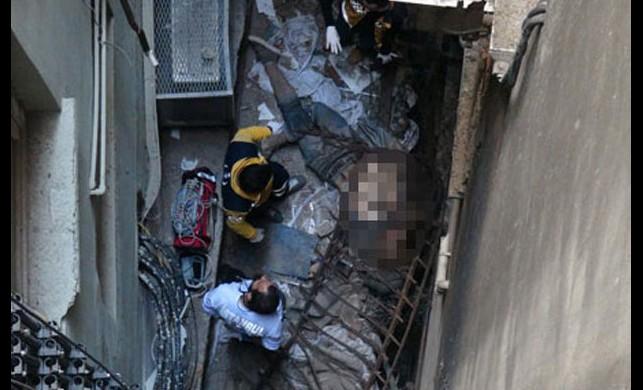 Taksim'de akıl almaz ölüm!