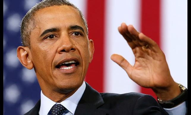 Obama için hava trafiği durduruldu