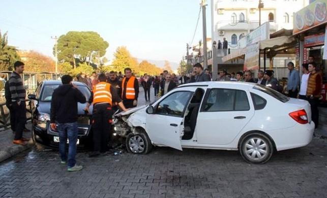 Muğla'da alkollü sürücü dehşet saçtı