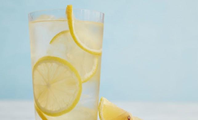 Doğal mucize: Limonlu su!