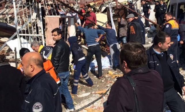 İzmir Buca'da korkutan patlama