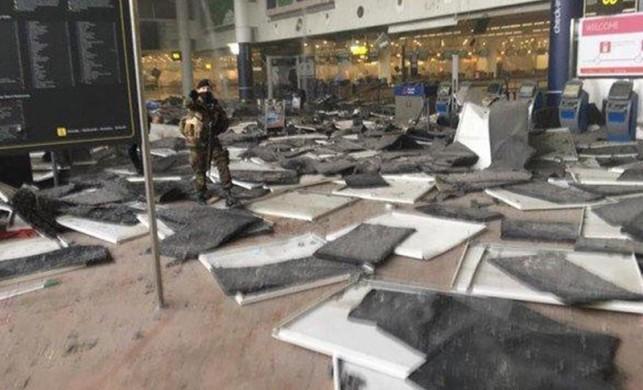 THY pilotu anlattı! Brüksel Havalimanı'ndaki saldırı anında oradaydı...