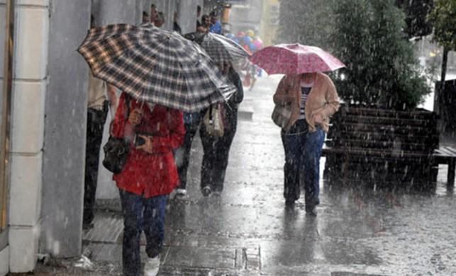 Meteoroloji'den 'çok kuvvetli yağış' uyarısı