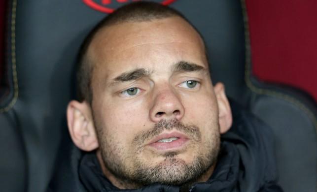 Wesley Sneijder'e fırça! Kriz yarattı...
