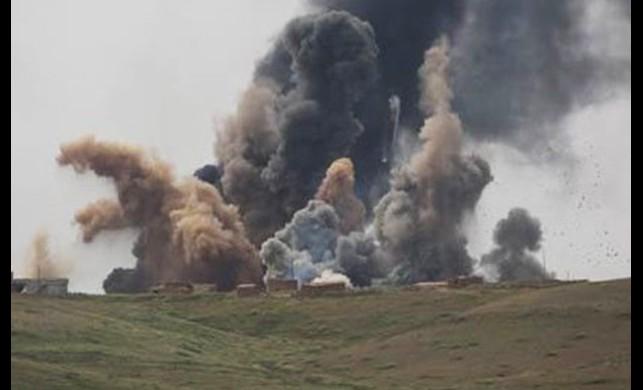 IŞİD'e ağır bombardıman!