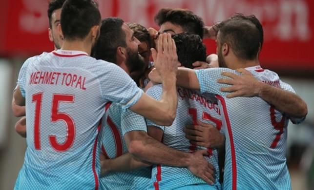 Avusturya Türkiye maçı golleri | Yine yenilmedi...