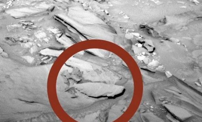 NASA yayınladı! Mars'tan şoke eden görüntü