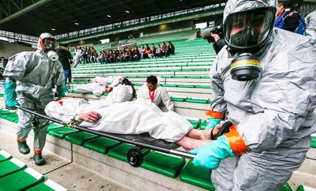 Fransa'da EURO 2016 öncesi terör tatbikatı