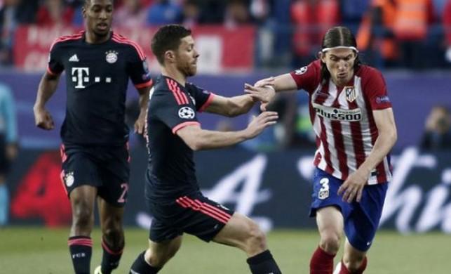 Atletico Madrid, Bayern Münih'i devirdi!
