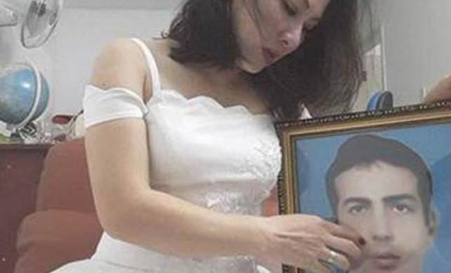 Vietnamlı şehit eşi gelinlik giydi
