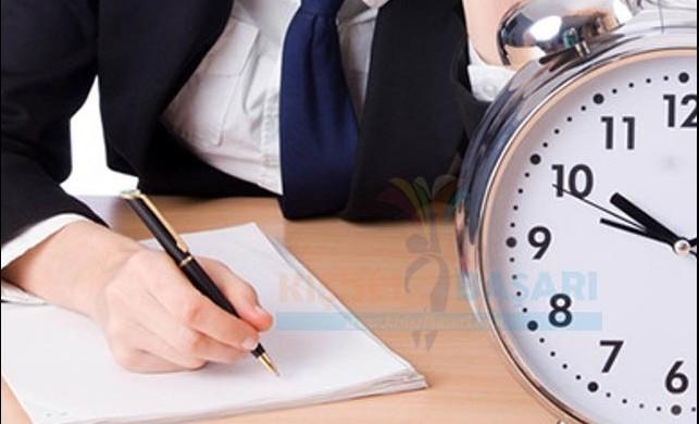 Zamanı nasıl verimli kullanırım ?