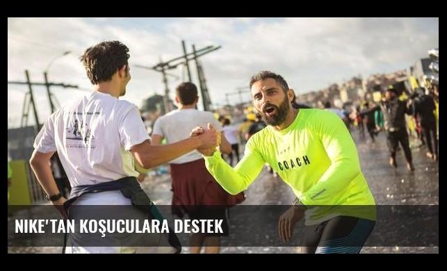 Nike'tan koşuculara destek