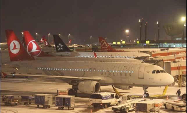 Atatürk Havalimanı ve Sabiha Gökçen Havalimanı'nda seferler iptal