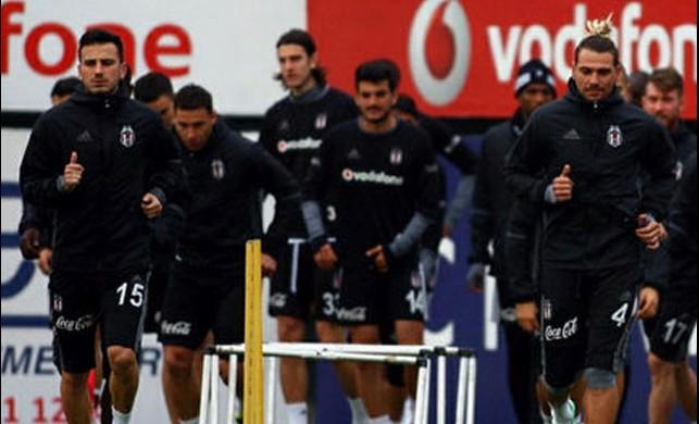 Beşiktaş'ta Trabzonspor mesaisi