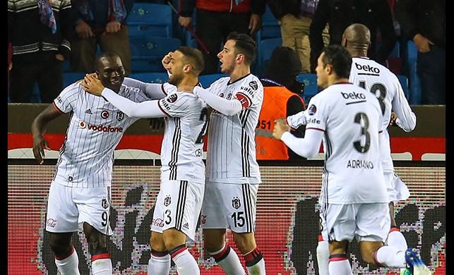 Trabzonspor:3 Beşiktaş: 4 | Spor Toto Süper Lig Maç Sonucu