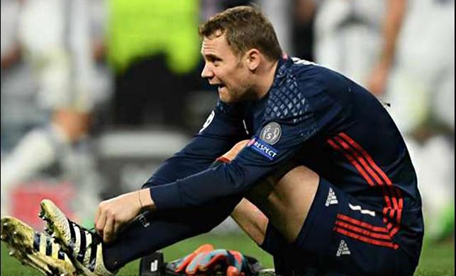 Manuel Neuer sezonu kapattı!