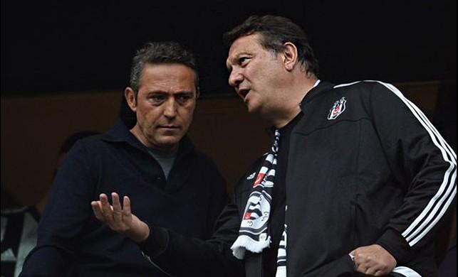 Ali Koç, Vodafone Arena'da derbiyi izledi!