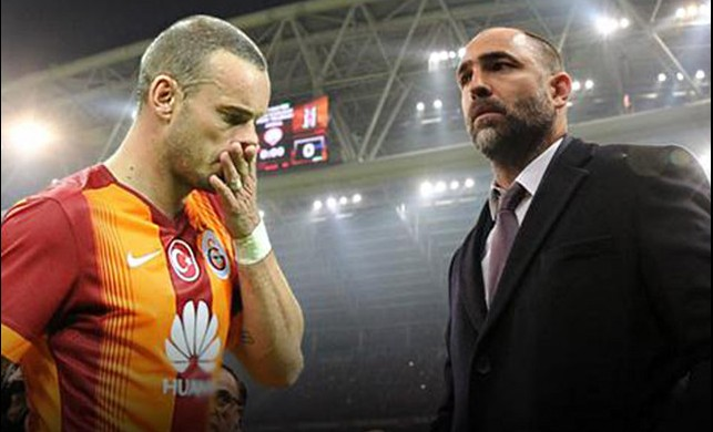 Galatasaray'da Tudor kalıyor! Sneijder ve Bruma'ya ağır yaptırımlar...