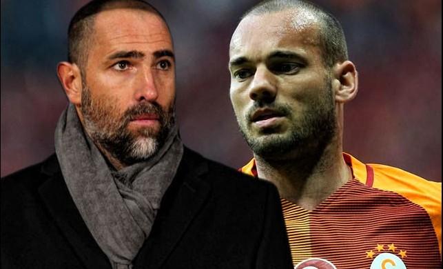Tudor'dan olay Sneijder sözleri! 'Eğer kalırsa...'