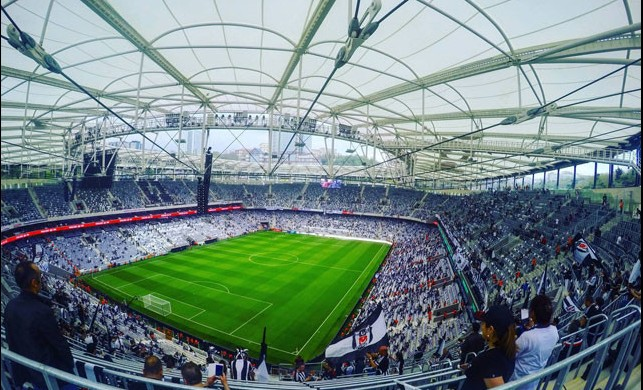 Dev final Vodafone Park'ta!