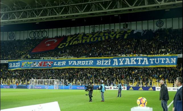 Fenerbahçe'den koreogrofi göndermesi!