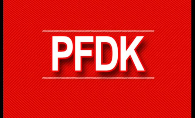 PFDK sevkleri açıklandı!
