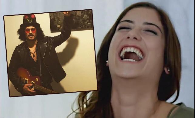 Çağatay Ulusoy'dan Hazal Kaya'yı güldüren fotoğraf!