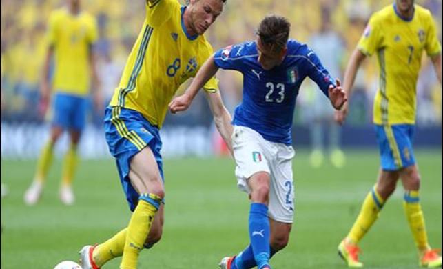 İsveç-İtalya karşılaşması naklen TV8, 5'ta